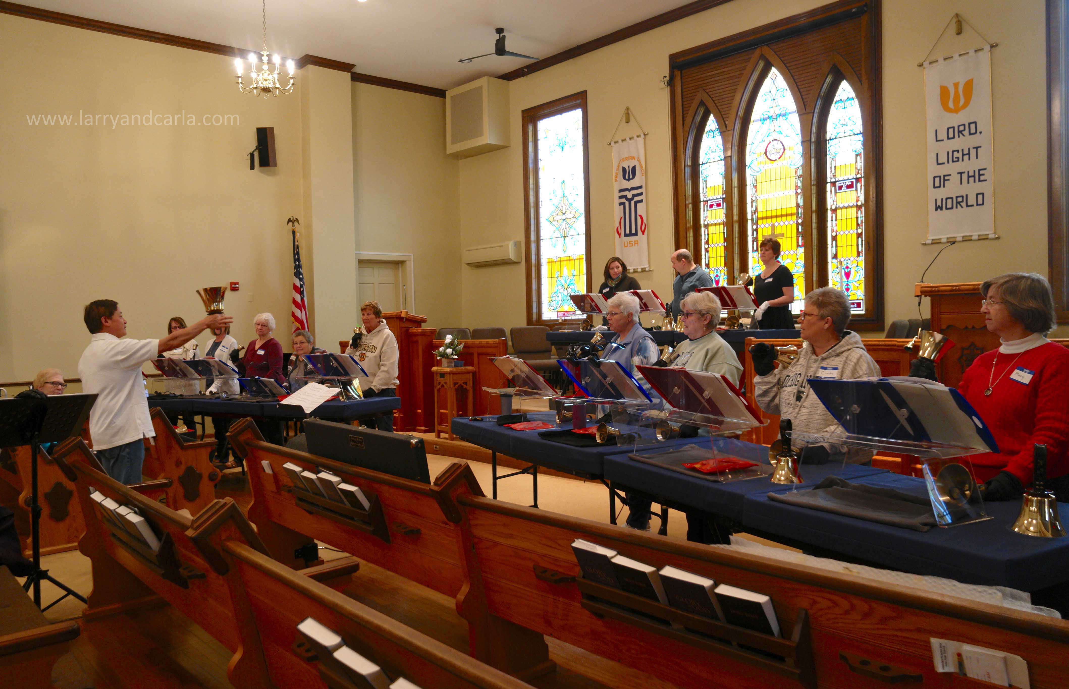Handbell Festivals and Workshops / Larry and Carla